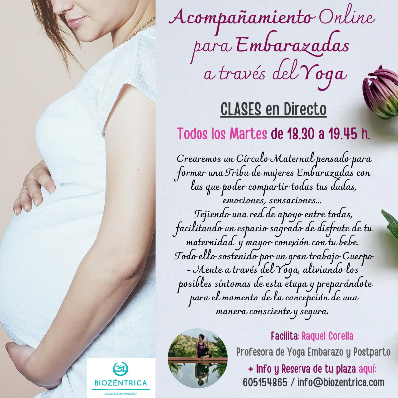 Yoga para Embarazadas Online