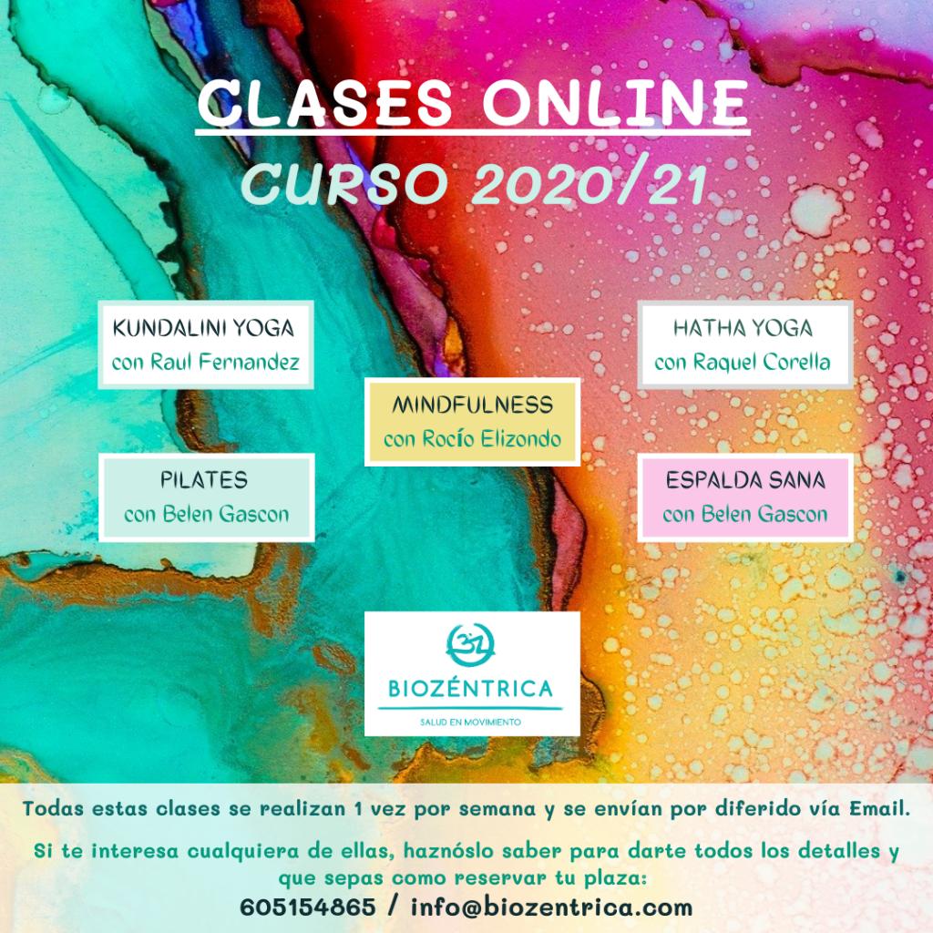 Clases Online BioZéntrica