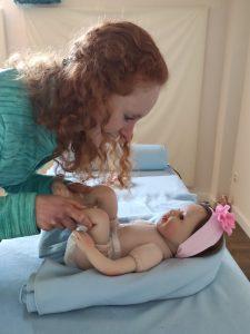 Masaje infantil Biozentrica